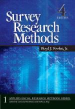 Survey Research Methods,