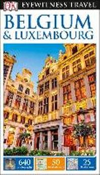 [해외]DK Eyewitness Belgium and Luxembourg (Paperback)