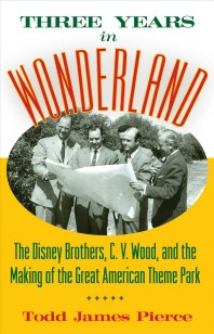 [해외]Three Years in Wonderland (Hardcover)