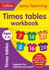 [해외]Collins Easy Learning Age 7-11 -- Times Tables Workbook Ages 7-11 (Paperback)