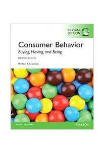 Consumer Behavior(Global Edition)(Solomon)