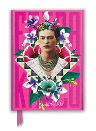 Frida Kahlo Pink Foiled Journal