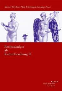 Rechtsanalyse ALS Kulturforschung II