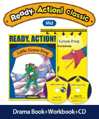 Pack-Ready Action Classic(Mid): Little Green Frog [SB+WB+CD](CD2장포함)(전2권)