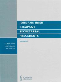Jordans Irish Company Secretarial Precedents