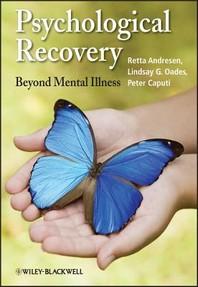 [해외]Psychological Recovery (Paperback)