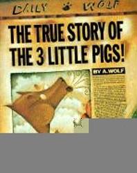 [해외]The True Story of the 3 Little Pigs (Prebound)