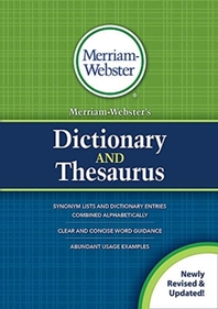 [해외]Merriam-Webster's Dictionary and Thesaurus