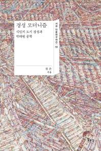 경성 모더니즘(서강 인문연구전간 55)(양장본 HardCover)