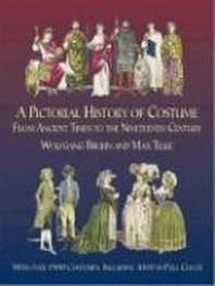 [해외]A Pictorial History of Costume from Ancient Times to the Nineteenth Century