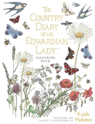 [해외]The Country Diary of an Edwardian Lady Colouring Book