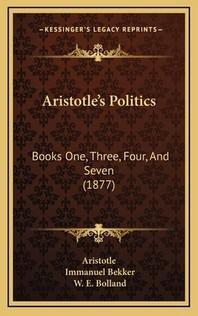 [해외]Aristotle's Politics (Hardcover)