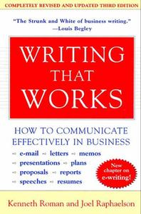 [해외]Writing That Works, 3rd Edition