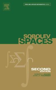 [해외]Sobolev Spaces, Volume 140