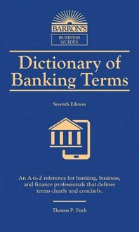 [해외]Dictionary of Banking Terms