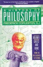 History of Philosophy : Vol.1
