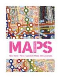 [해외]Paula Scher Maps New York/Paris/London