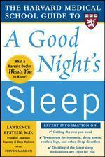 [해외]The Harvard Medical School Guide to a Good Night's Sleep