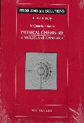 Problems and Solutions to Accompany McQuarrie and Simon's Physical Chemistry