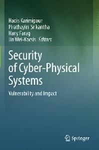 [해외]Security of Cyber-Physical Systems
