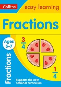 [해외]Collins Easy Learning Age 5-7 -- Fractions Ages 5-7 (Paperback)
