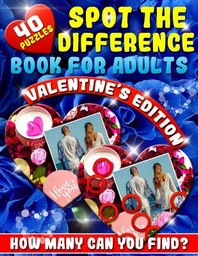 Spot the Difference Book for Adults