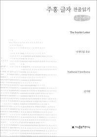 주홍 글자(큰글씨책)(지식을만드는지식 천줄읽기)