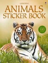 Animals Sticker Book [With Stickers]