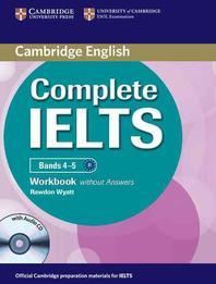 [해외]Complete Ielts Bands 4-5 Workbook Without Answers with Audio CD
