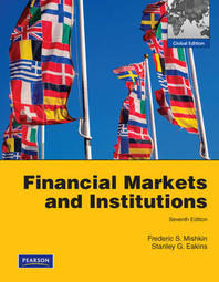 Financial Markets and Institutions