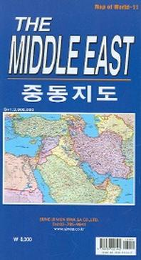 THE MIDDLE EAST 중동지도(Map of World 11)