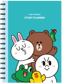 Line Friends Study Planner(라인 프렌즈 스터디 플래너)(스프링)
