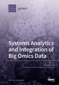 [해외]Systems Analytics and Integration of Big Omics Data