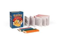 Pokemon Coloring Kit (Miniature Editions)