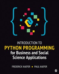 [해외]Introduction to Python Programming for Business and Social Science Applications