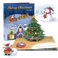 특별한 선물! 크리스마스 팝업북 Merry Christmas(팝업북)