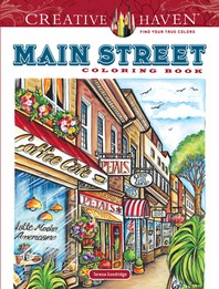 [해외]Creative Haven Main Street Coloring Book