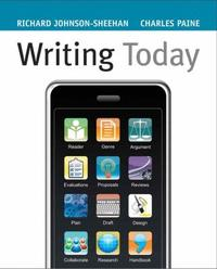Writing Today (Paperback)
