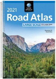 [해외]Rand McNally 2021 Large Scale Road Atlas