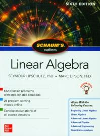 [해외]Schaum's Outline of Linear Algebra