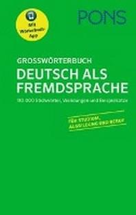 [해외]PONS Grosswoerterbuch Deutsch als Fremdsprache