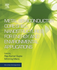 Metal Semiconductor Core-shell Nanostructures for Energy and Environmental Applications