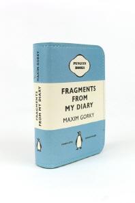 [펭귄] 카드지갑 Fragments from My Diary (Light Blue)