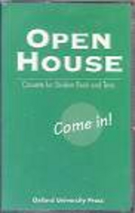 Open House 1: Audio-Cassette (Come In!) [Units 1 - 12][ISBN 0-19-435845-3]