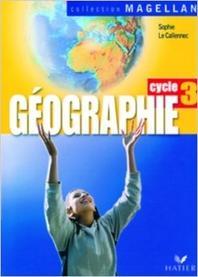 Magellan, Geographie cycle 3- Manuel + Atlas (CE2/CM1/CM2)