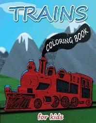[해외]Trains Coloring Book