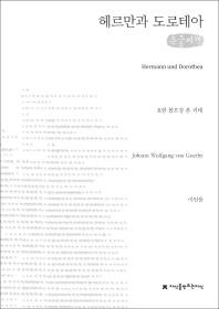 헤르만과 도로테아(큰글씨책)(지식을만드는지식 시선집)