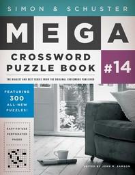 [해외]Simon & Schuster Mega Crossword Puzzle Book #14 (Paperback)