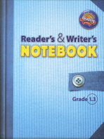 READERS WRITERS NOTEBOOK GRADE 1.3