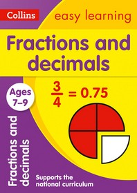 [해외]Collins Easy Learning Age 7-11 -- Fractions and Decimals Ages 7-9 (Paperback)